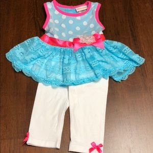 Little lass outfit size 12 months